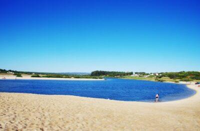 landscape of Melides lagoon,Portugal
