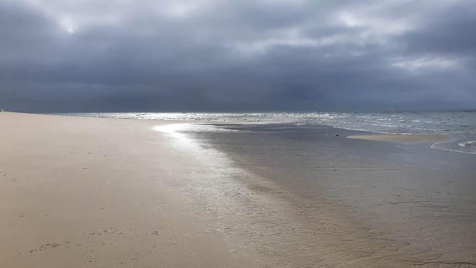 Troia a Melides a través de la playa